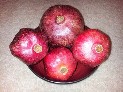 Pomegranates bowl